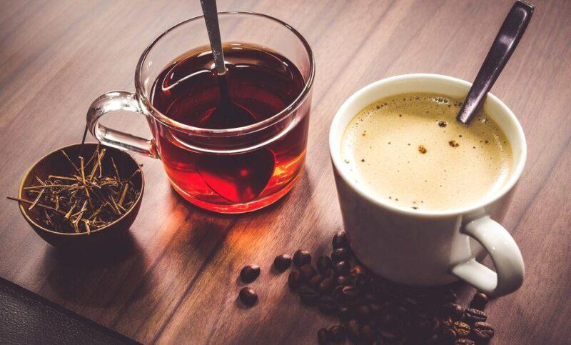 چای و قهوه کافئین