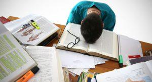 خستگی حین مطالعه