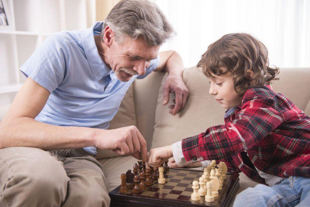 بازی تمرکزی شطرنج