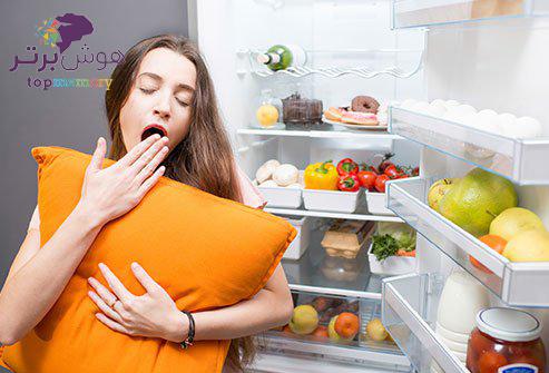خواب و خوراک مناسب برای افزایش تمرکز در مطالعه کنکور