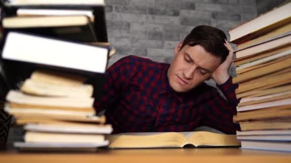 بی حوصلگی در درس خواندن