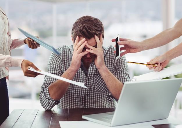 استرس و عدم تمرکز در بزرگسالان