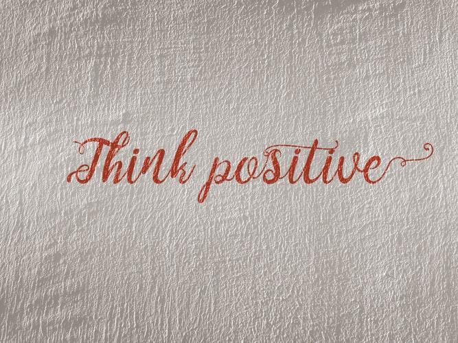 مثبت فکر کردن