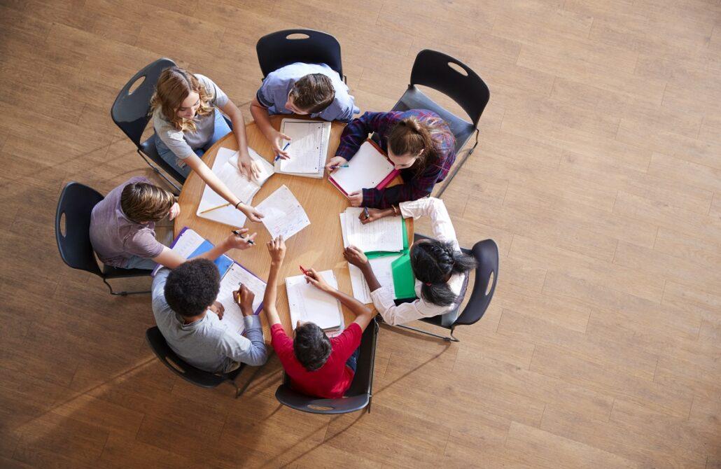 مطالعه گروهی رازهای موفقیت در کنکور