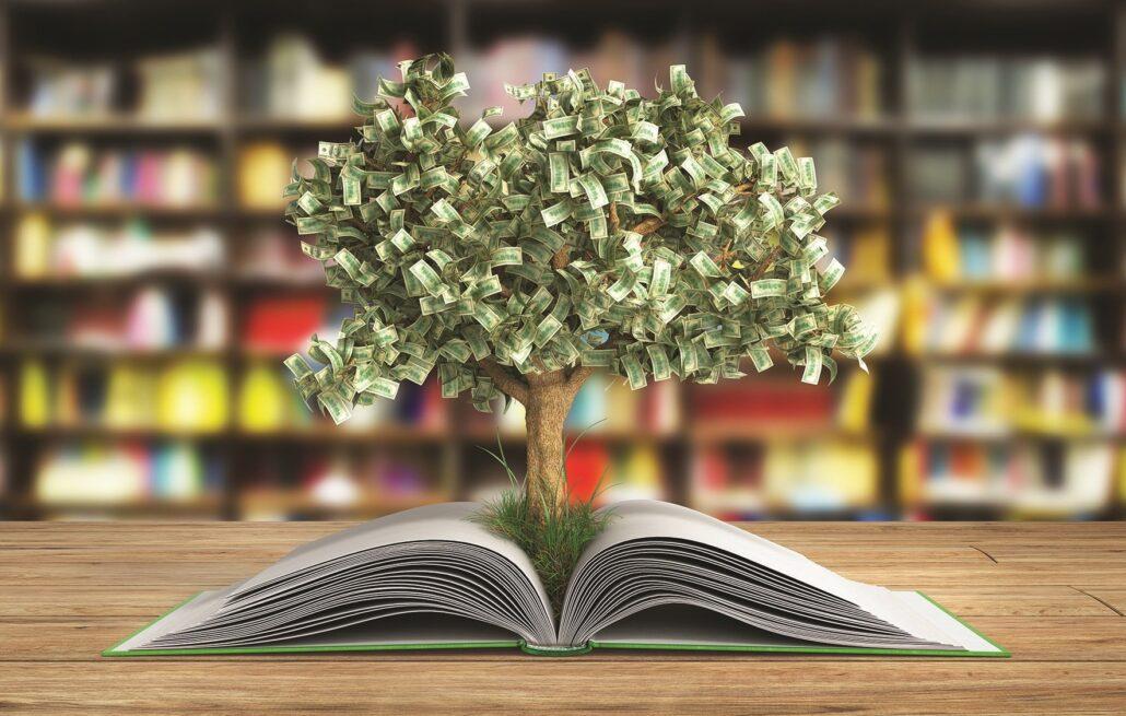 کتابخوانی برای پولدار شدن