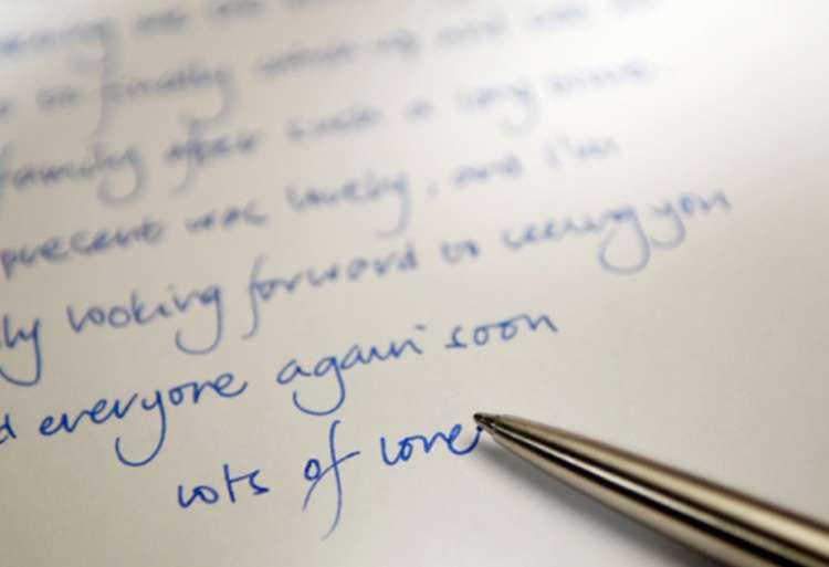 نوشتن به انگلیسی