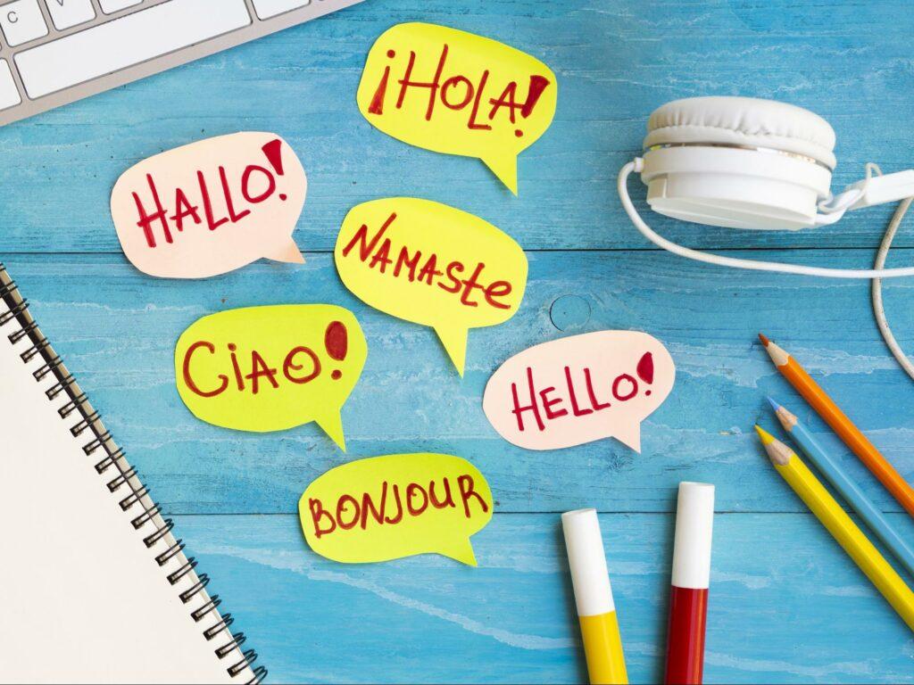 یادگیری زبان جدید