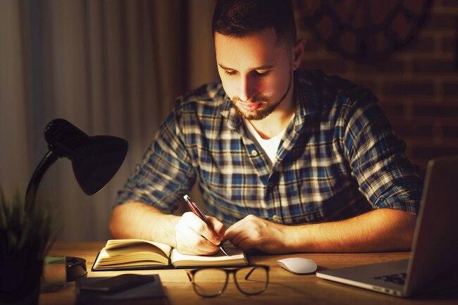 یادگیری در خواب با نوشتن