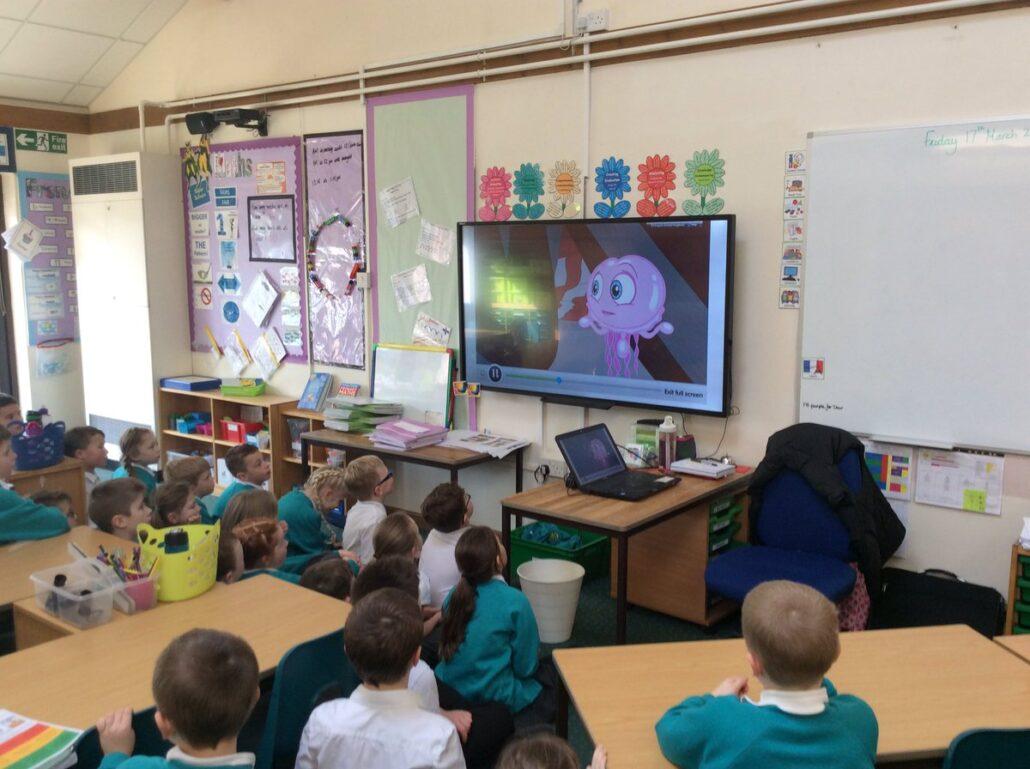 آموزش زبان با انیمیشن