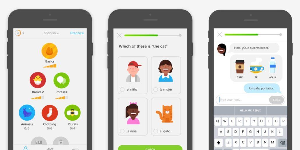 دولینگو بهترین اپلیکیشن آموزش زبان