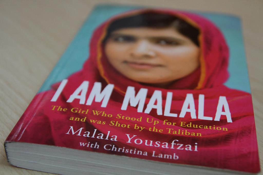 من ملاله ام از کتاب های حوزه زنان