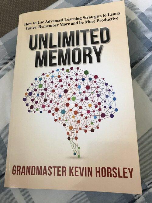 جلد کتاب حافظه نامحدود