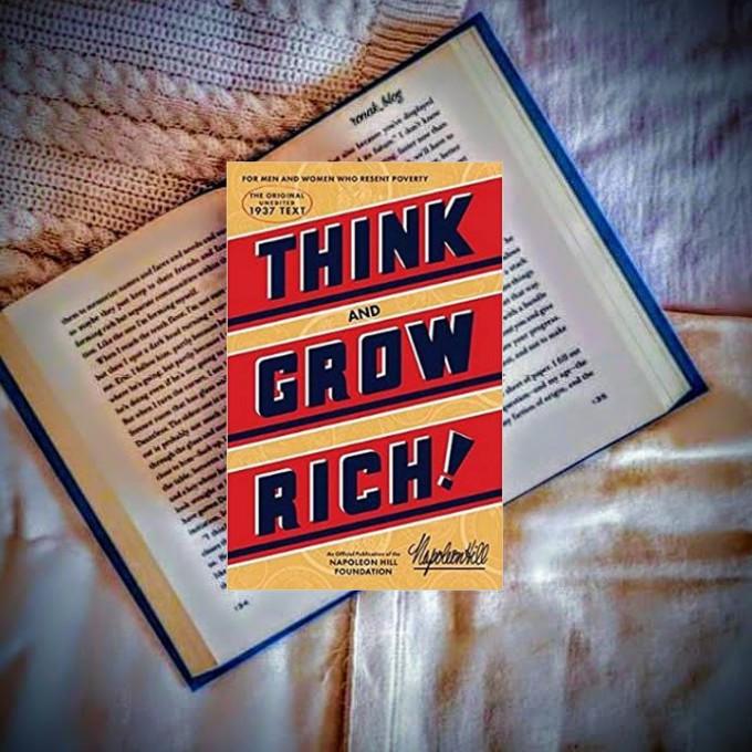بیندیشید و ثروتمند شوید از پرفروش ترین کتاب های دنیا