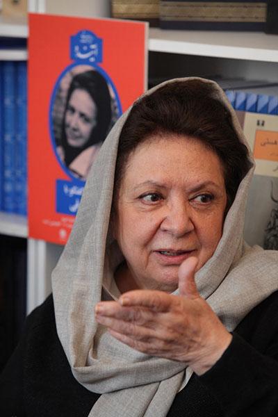 تصویری از گلی ترقی یکی از بهترین نویسندگان زن