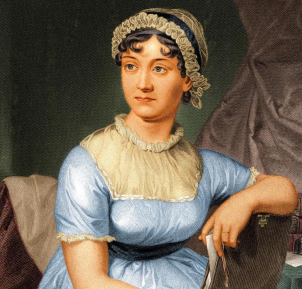 جین آستن از بهترین نویسندگان زن