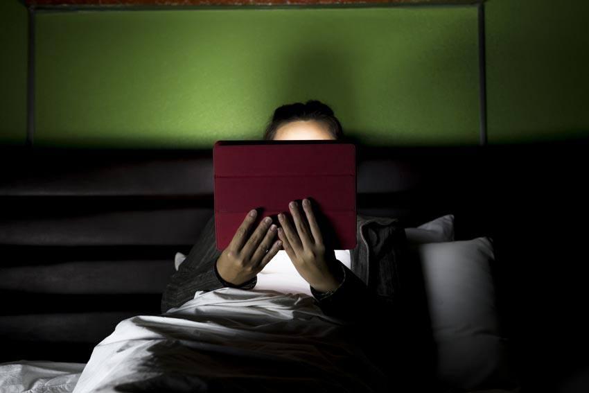 خواندن کتاب الکترونیکی