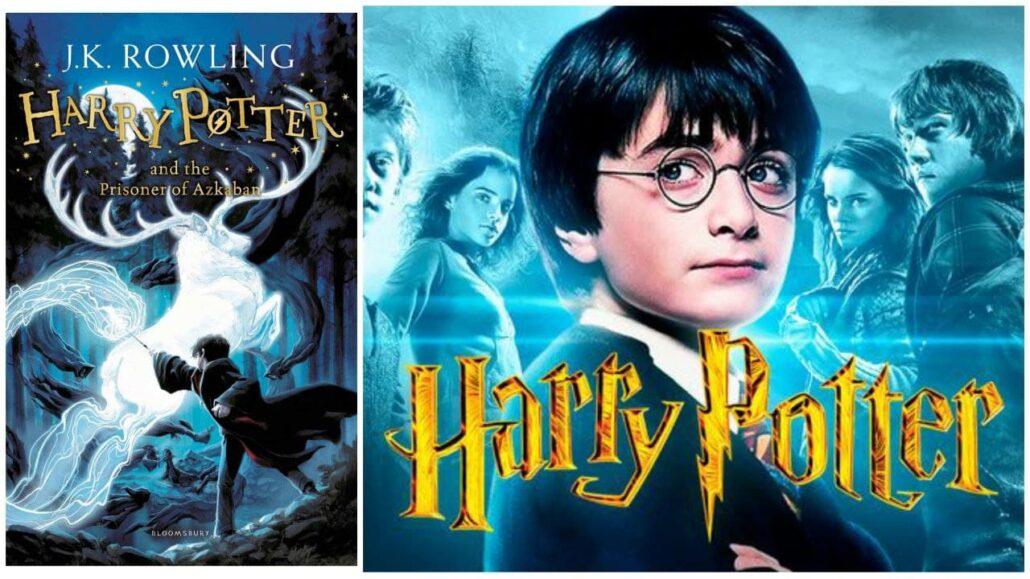 هری پاتر از کتاب هایی که فیلم شدند