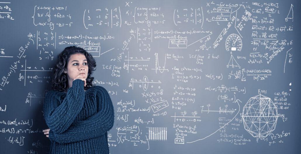 دختر روش مطالعه درس ریاضی