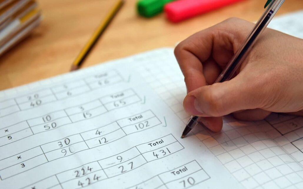 مرور مطالب ریاضی